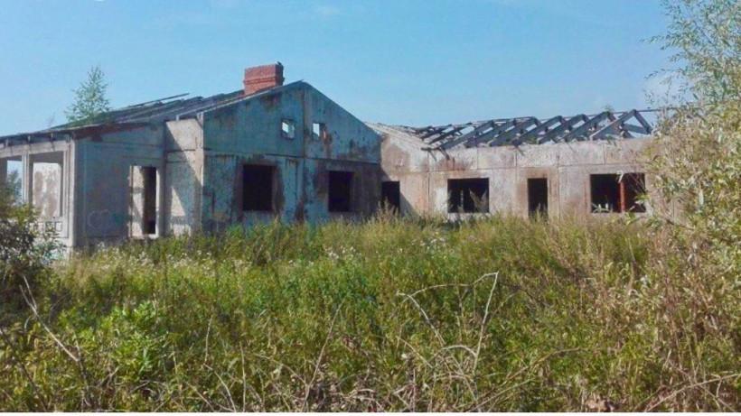 Недостроенное здание снесли в Сергиево-Посадском городском округе