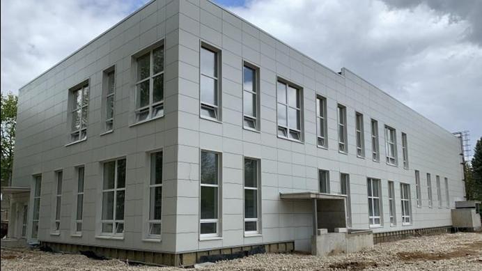 Новый дом культуры достроят в городском округе Молодежный в августе