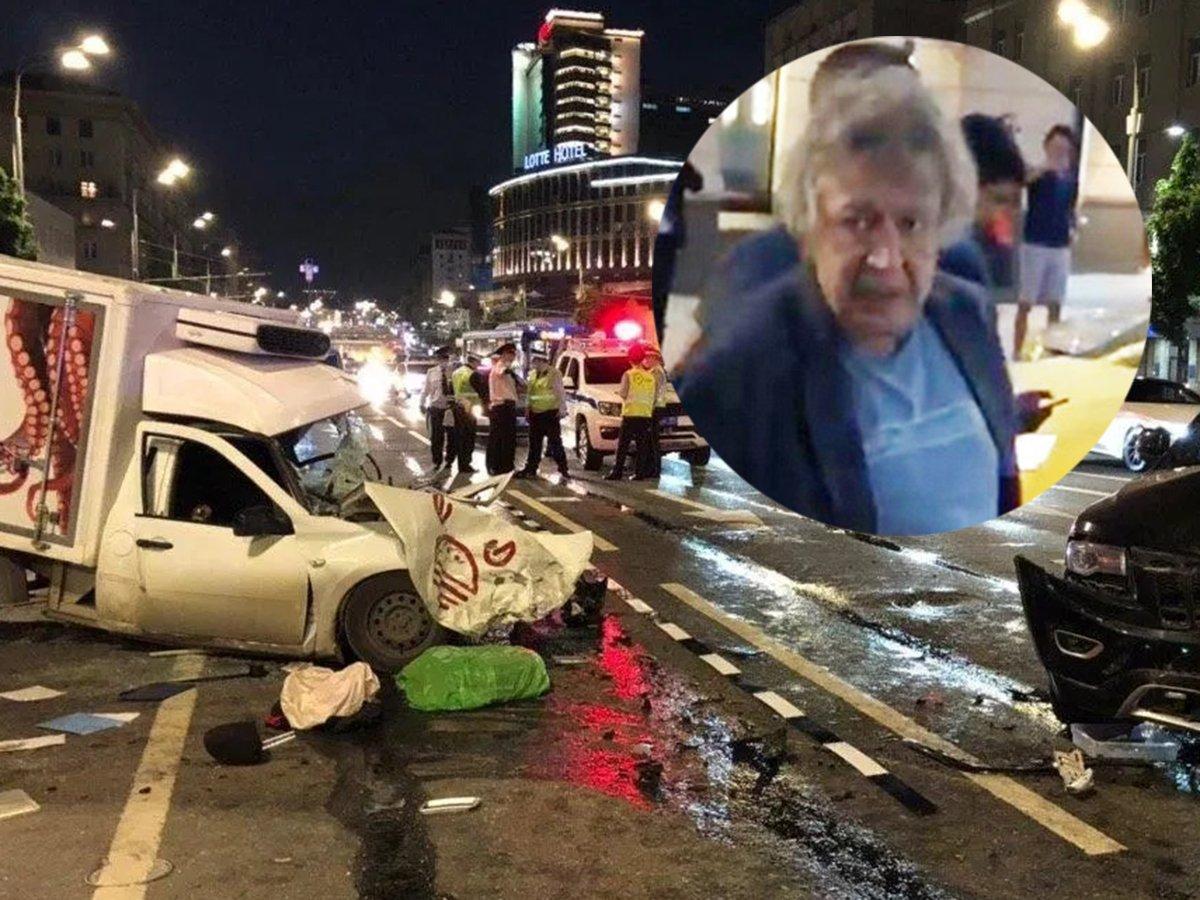 """""""Он как будто просто исчез"""": свидетель рассказал о пассажире Ефремова в момент ДТП"""