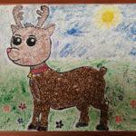 Онлайн мастер-класс «Гречневый олень»