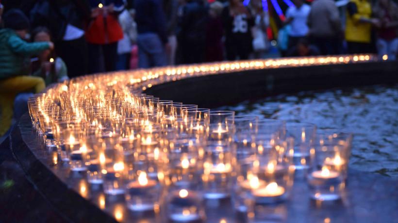Парки Московской области поддержали акцию «Свеча памяти»