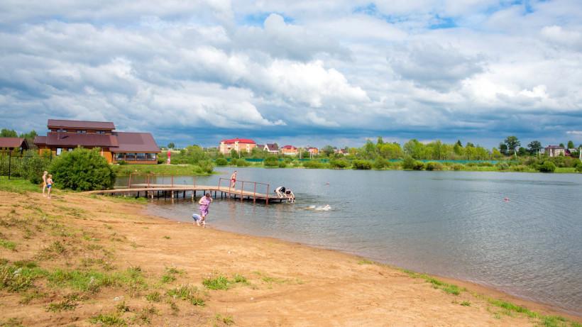 Пляжи Московской области откроются 1 июля