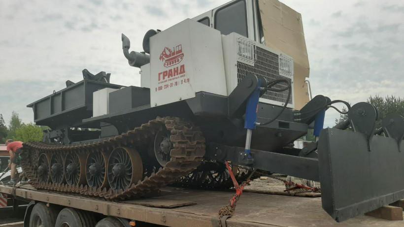 Подмосковный Комлесхоз приобрел два трактора для лесопожарных станций