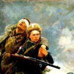 Показ видеозаписи песни «Ромашки, опалённые войной»