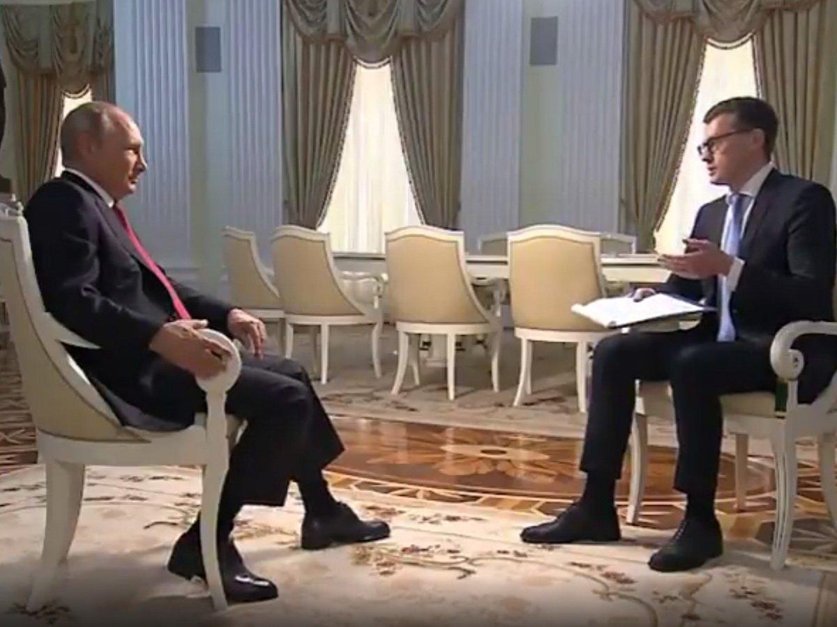 Путин о беспорядках в США