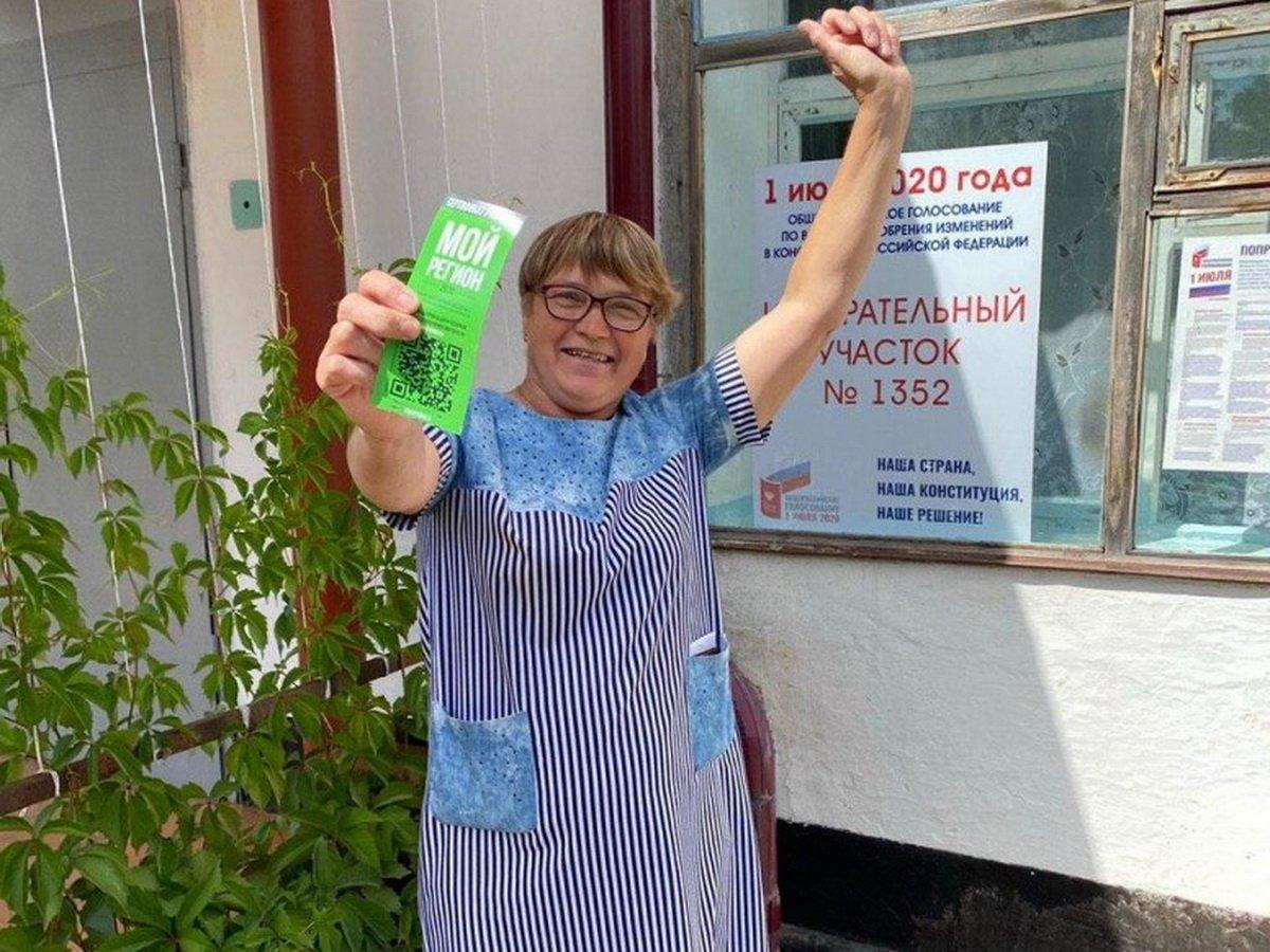 Председатель избиркома в Омске выиграла квартиру в первый день голосования