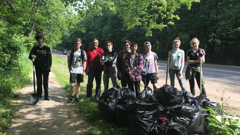 Приокско-Террасный заповедник запускает акцию по уборке мусора в местах отдыха