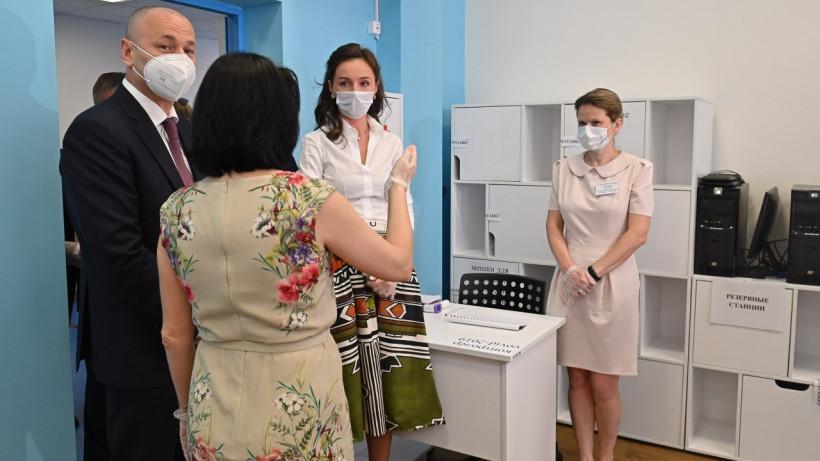 Пробные госэкзамены без участия школьников проходят в Подмосковье