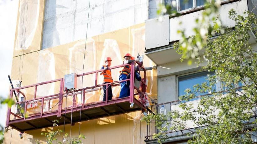 Работы по капитальному ремонту многоквартирных домов возобновили в Подмосковье