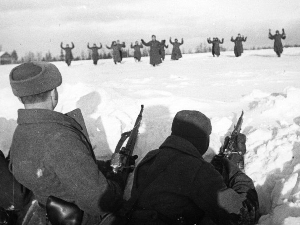 Редкие фото Великой Отечественной войны 1941-43 гг.