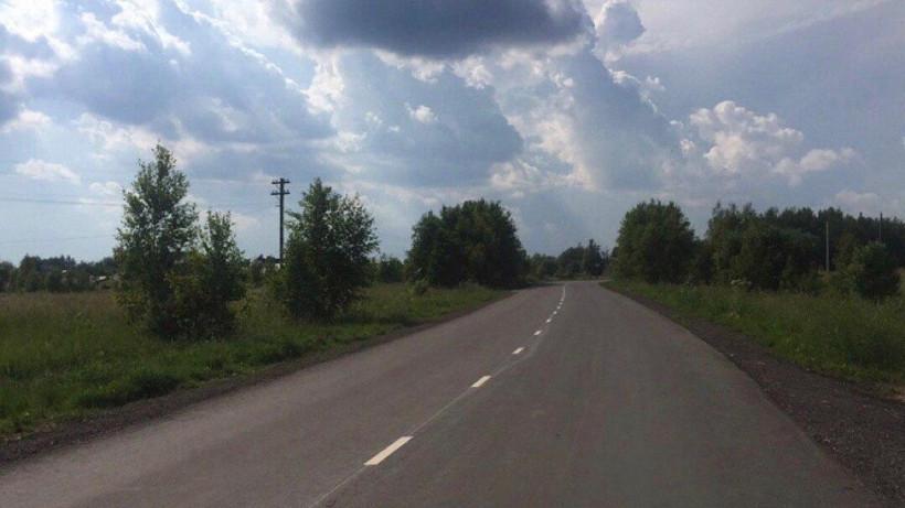 Ремонт региональных дорог завершили в Павловском Посаде
