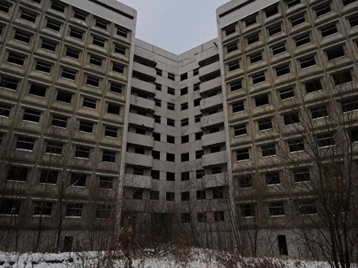 Самые жуткие заброшенные места в России