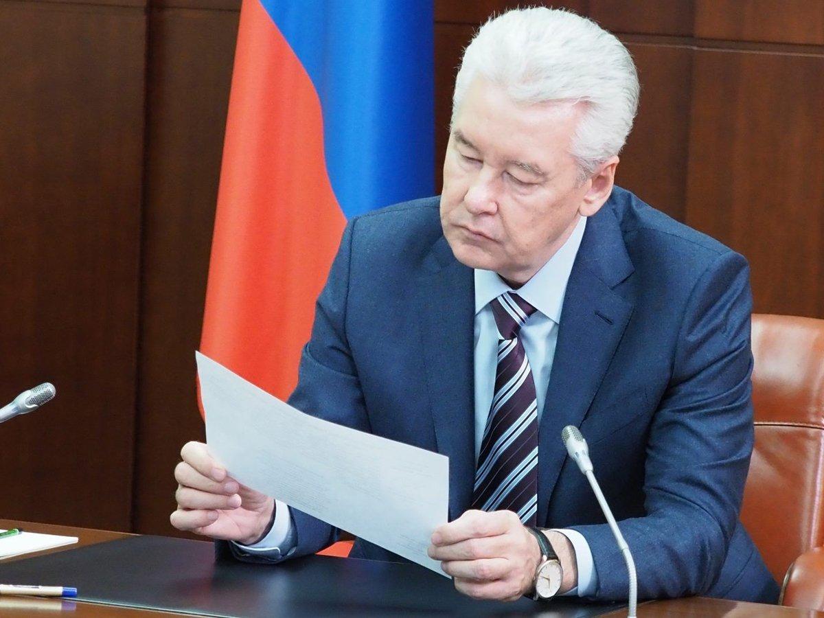 СМИ: Кремль осадил Собянина за указы с ограничениями по коронавирусу