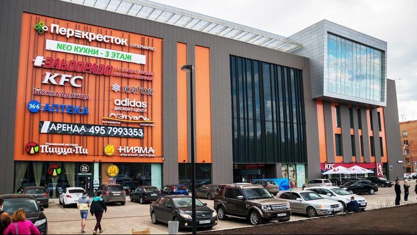 Культурно-оздоровительный центр с подземной автостоянкой «Красный Кит» в Красногорске