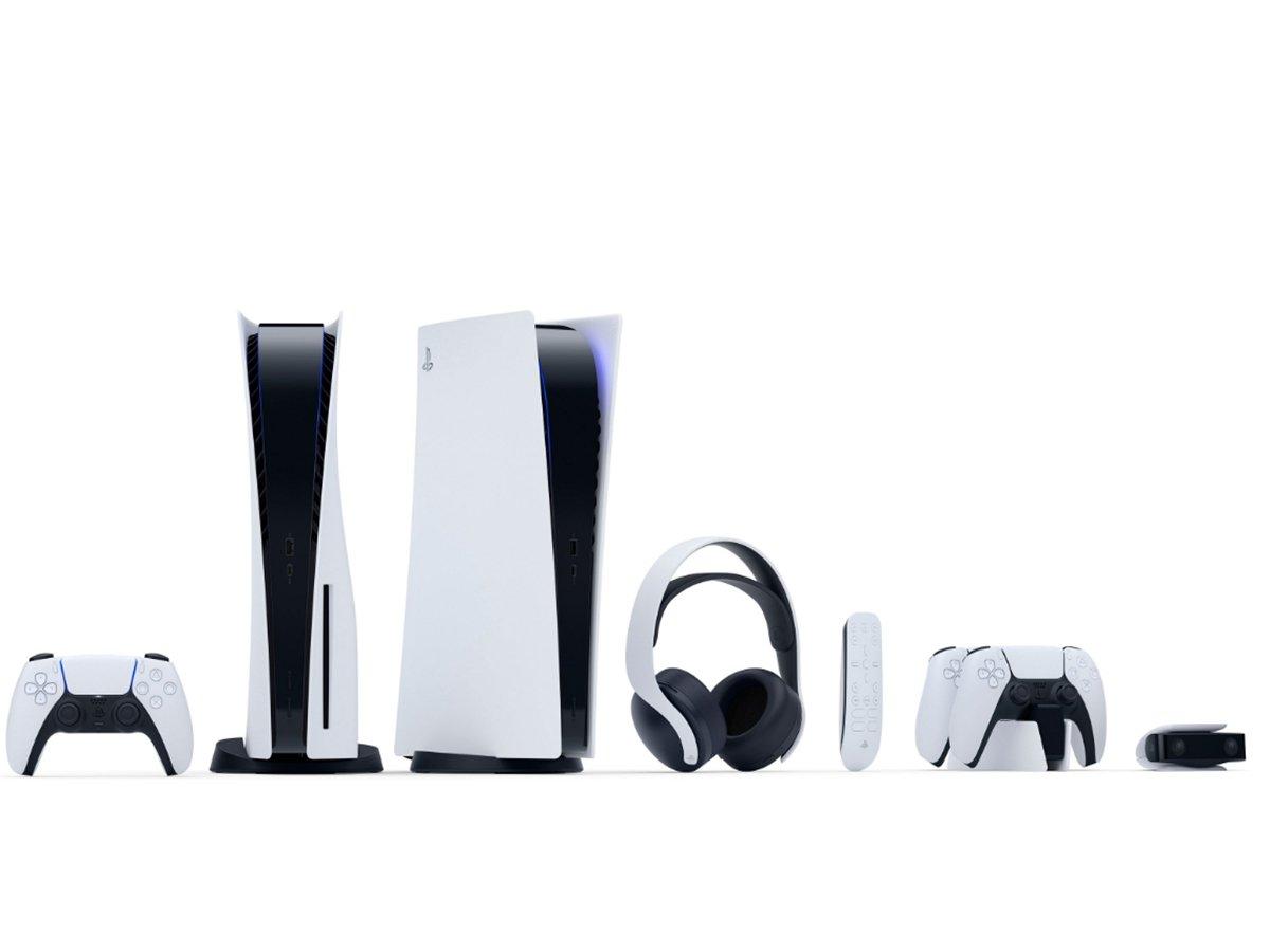Sony презентовала PlayStation 5 с футуристичным дизайном