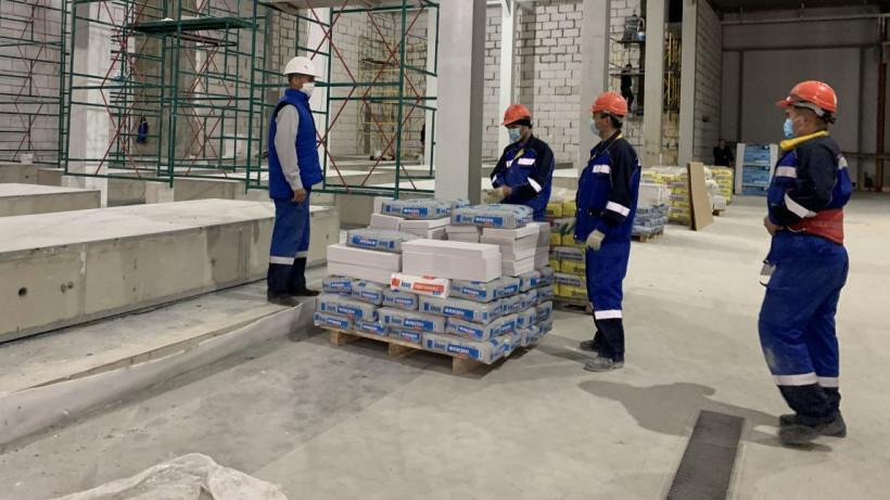 Строительство первой очереди завода по производству сыра в Дмитровском округе завершено на 80%