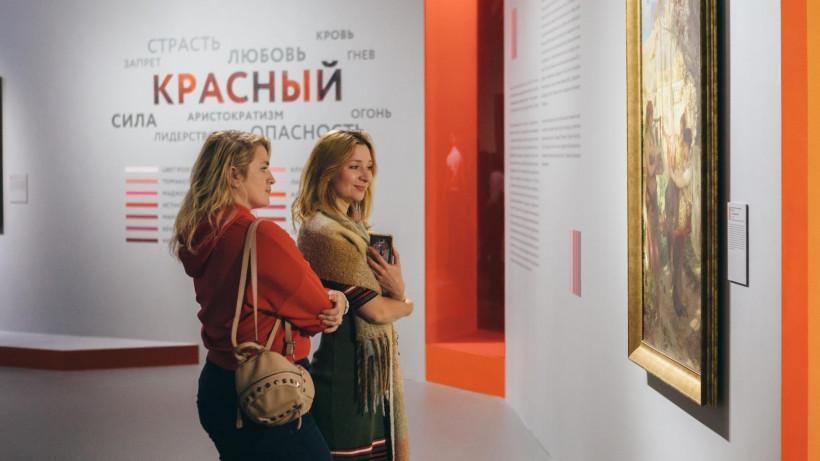 Свыше 100 тыс. человек посетили выставку «Цвет. 90 шедевров Подмосковья» в Новом Иерусалиме