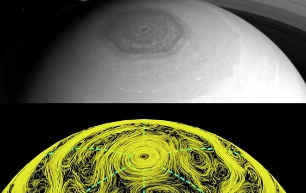 Тайна загадочного шестиугольника на Сатурне разгадана - ученые