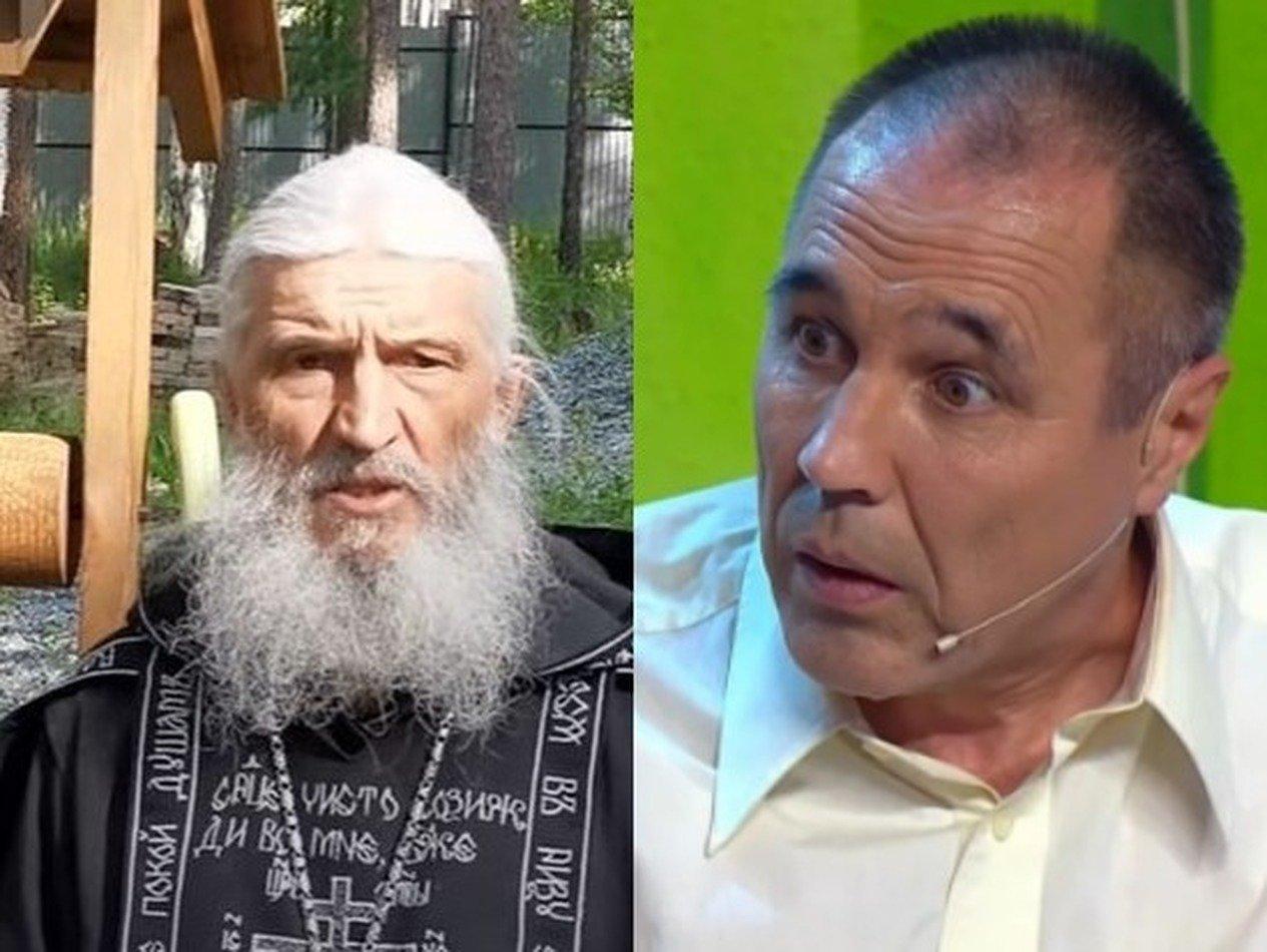 Участник «Уральских пельменей» и олимпийский чемпион засели с духовником Поклонской в монастыре