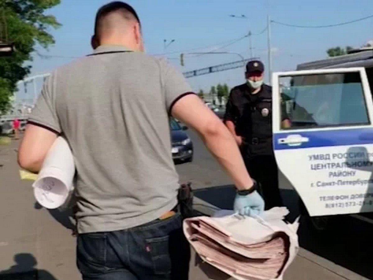 В Петербурге заведено дело из-за распространения листовок со словом «Нет!»