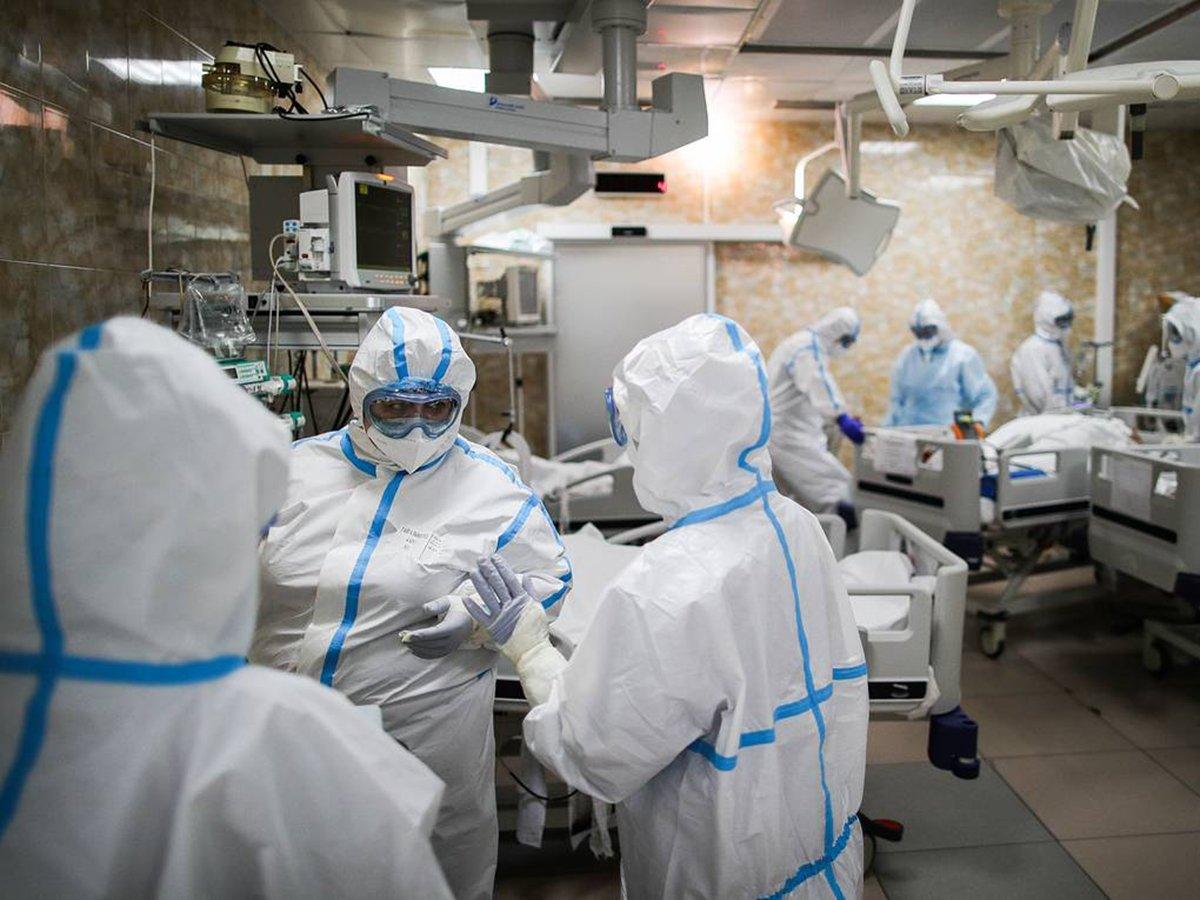 В России коронавирусом заразились еще 6852 человек