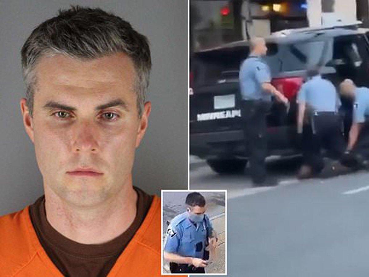 В США освободили под залог $1 млн одного из полицейских по делу Джорджа Флойда