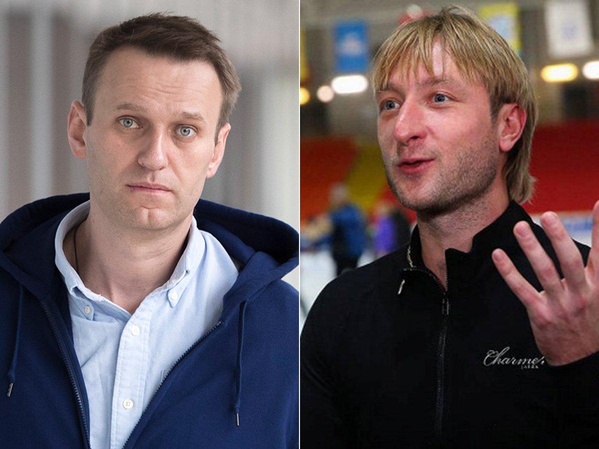 """""""Вам должно быть стыдно"""": Навальный ответил на предложение Плющенко разобраться """"по-мужски"""""""