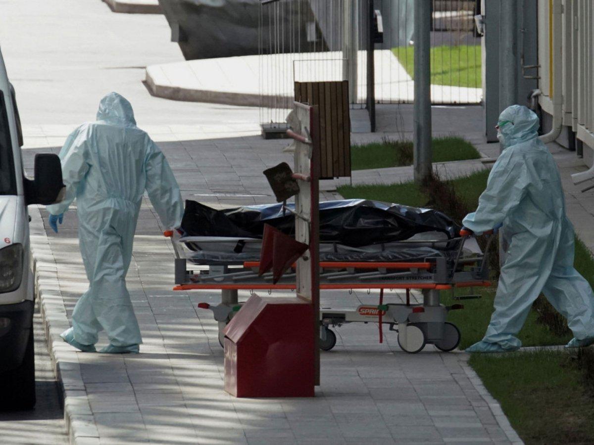 За сутки в России умерли 114 человек с COVID-19
