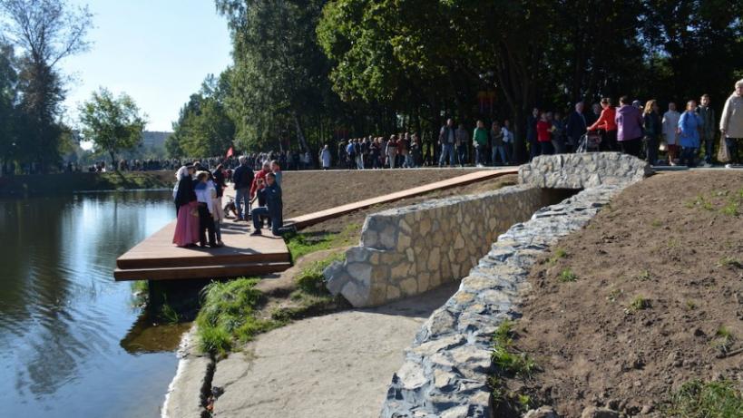 Парк «Ивановские пруды» в Красногорске