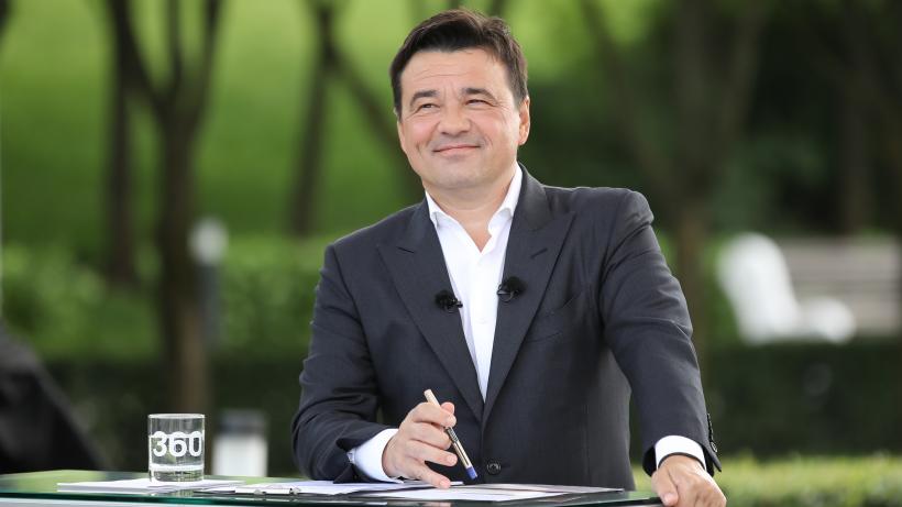 Андрей Воробьев подвел итоги месяца в прямом эфире канала «360»