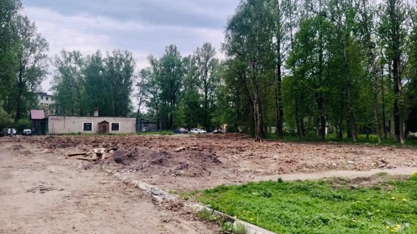 Аварийный «Дом офицеров» снесли в городском округе Клин