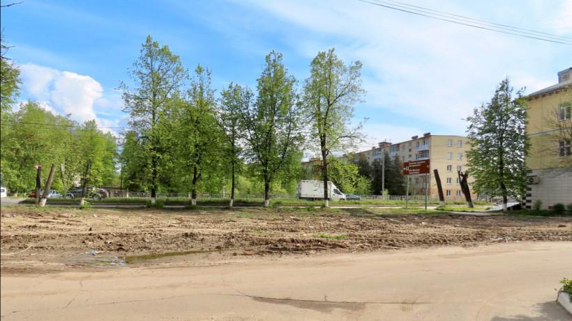 Аварийный жилой дом снесли в городском округе Клин