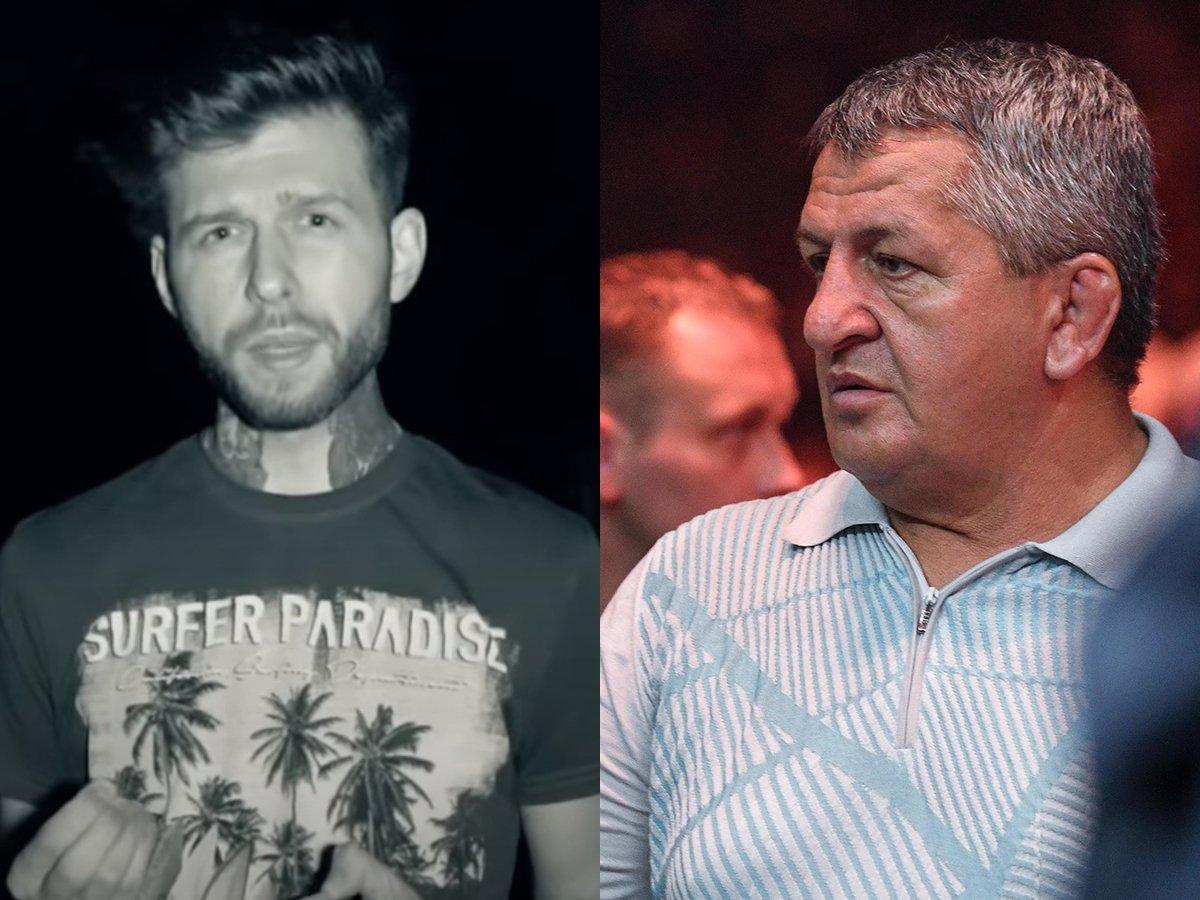 "Блогер записал на видео ""беседу"" с умершим отцом Хабиба Нурмагомедова"
