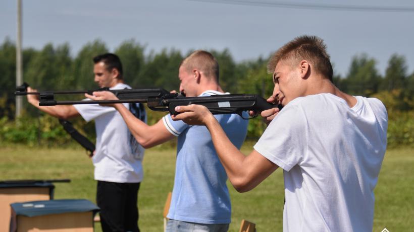 Допризывная молодежь из Павловского посада победила в Спартакиаде Подмосковья