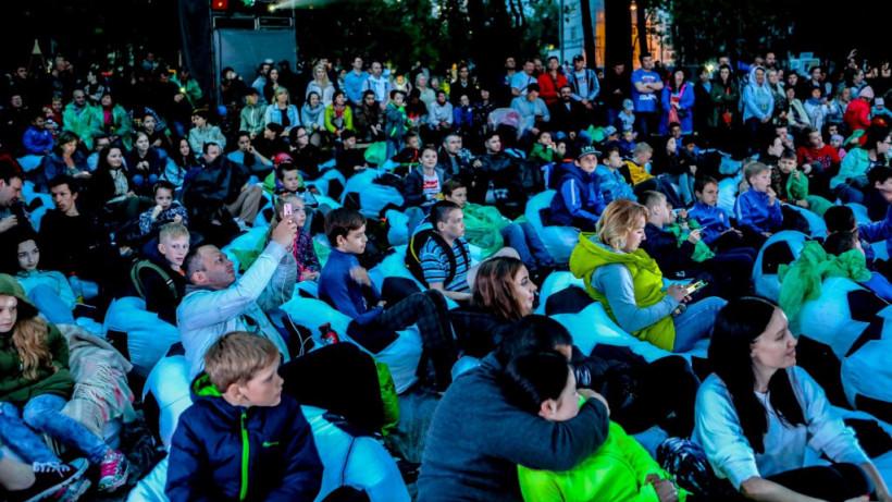 Проект Летний кинотеатр в парках