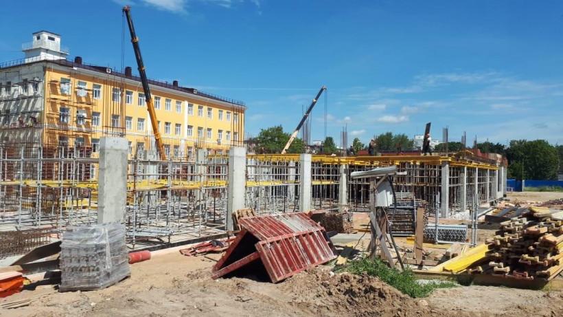 Главгосстройнадзор контролирует строительство пристройки к зданию гимназии в Коломне