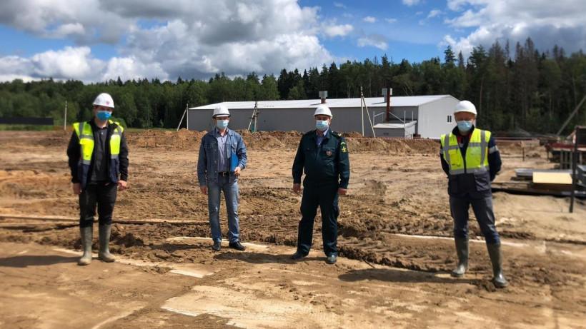 Главгосстройнадзор проверил ход строительства производственного здания в Щелкове