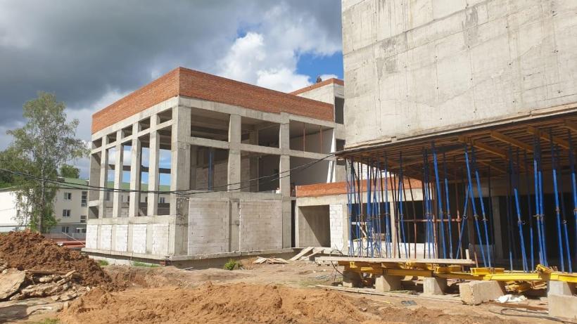 строительство школы в Волоколамске