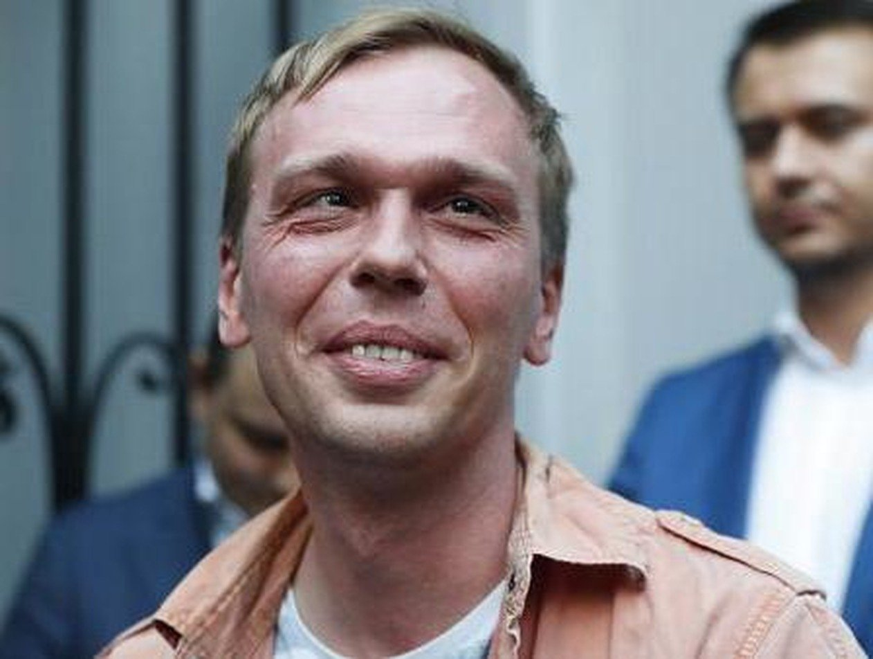 Илья Голунов потребовал 5 млн рублей от задержавших его полицейских