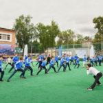 Именитые спортсмены вручили знаки отличия ГТО в Электростали