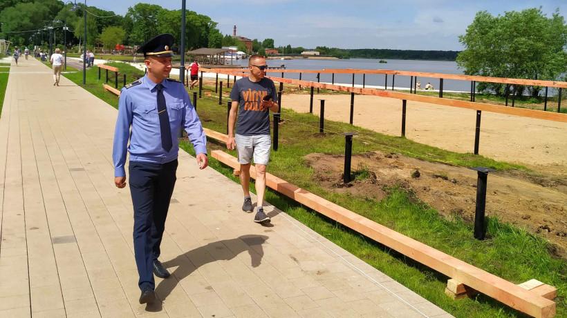 Инспекторы Госадмтехнадзора добились устранения 175 нарушений содержания пляжей Подмосковья