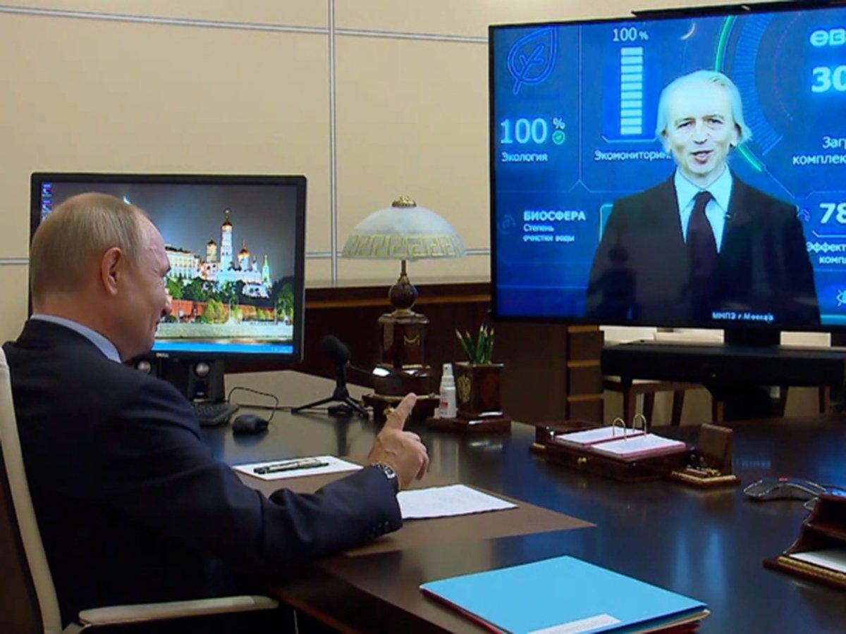 """""""Извините, что перебиваю"""": Путин подначил главу """"Газпром нефти"""" шуткой про """"сотенку миллиардов"""""""