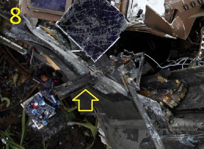 Фото малайзийского Боинг, сбитого в небе над Донбассом