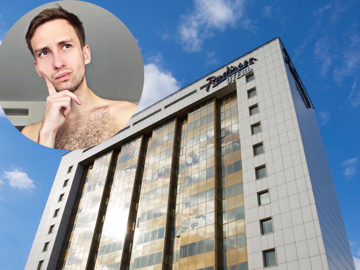 Элитный отель пригрозил россиянину делом о порнографии из-за фото в трусах в номере