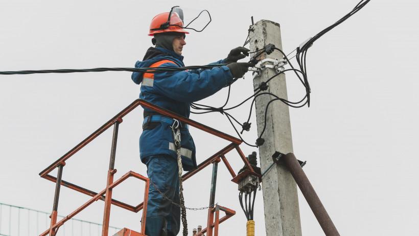 Энергетики региона устранили крупные технологические нарушения после непогоды во вторник