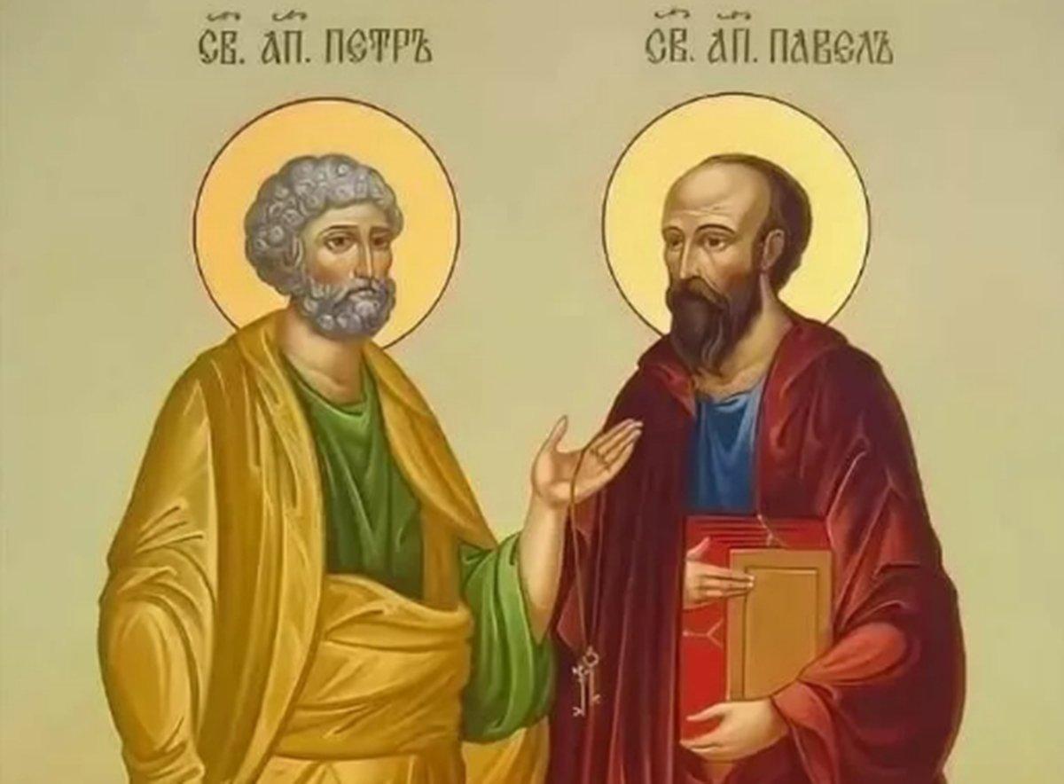 Какой сегодня праздник: 12 июля 2020 года отмечается церковный праздник Петра и Павла (Петров день)
