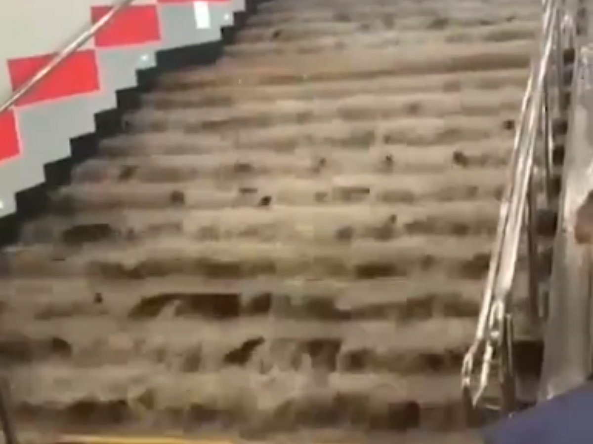 Москву затопило, 27.07