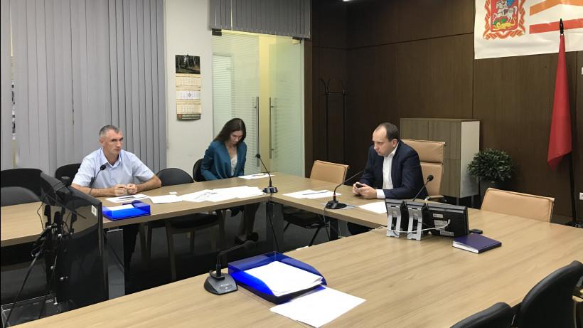 Минстрой Подмосковья провел селекторное совещание по вопросам расселения аварийного жилья