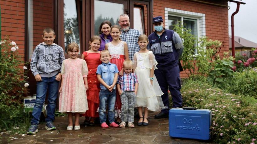Мособлгаз бесплатно провел техобслуживание газового оборудования в домах 100 многодетных семей