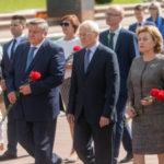 На фестивале «Славянский базар в Витебске» отпраздновали День Союзного государства